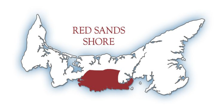 Red Sands Shore | Tourism Prince Edward Island~~~~ PIN # 3