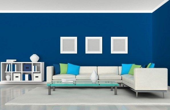 warna cat interior rumah mewah