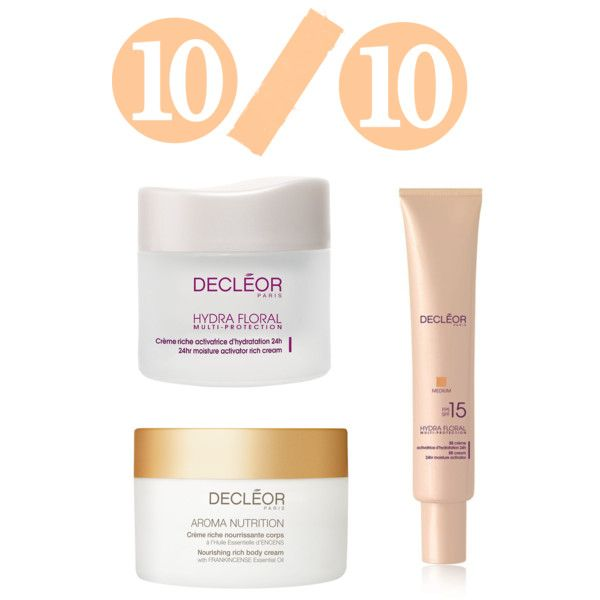 Decleor by lenahcaruana on Polyvore featuring beauty, Decléor, skincare, dryskin and decleor: