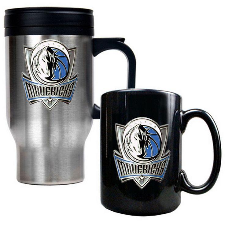 Dallas Mavericks 2-pc. Mug Set, Multicolor
