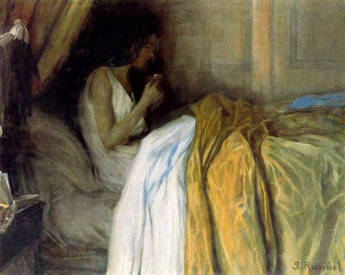 Before the Morphine, Santiago Rusiñol  1890