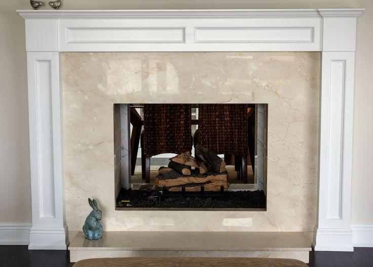 #fireplace #marble #luxury #southflorida #delraybeach #natureofmarble #cremamarfil #marblefireplace