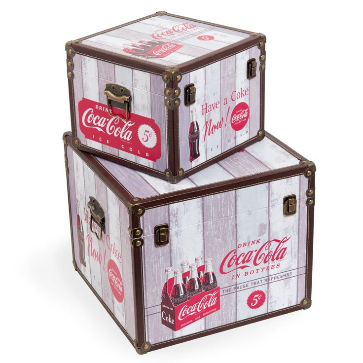 CocaColas vintage chest by Maison du Monde I