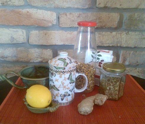 teakeverék meghűlésre