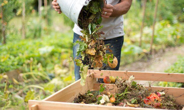 Composter Pour commencer, déposer une couche de déchets comme des feuilles mortes, des petits branchages ou de la paille puis quelques poignées de terre ou de vieux compost ou fond du composteur. La suite n'est qu'un jeu!  En déposant régulièrement vos déchets verts et vosdéchets végétaux de cuisine, et en remuant le tas àl'aide d'une fourche après chaque apport, vous obtiendrez après plusieurs mois un compost prêt à l'emploi. Il est mûr quand il présente un aspectbrun, ...