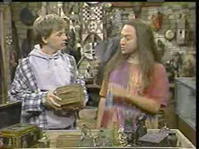 """You Can Put Your Weed in There!""  SNL video clip from September 25, 1993 (hence the poor quality.) A classic skit featuring Rob Schneider, David Spade, and even Charles Barkley. And then in the Hot Chick with Adam Sandler!!!"