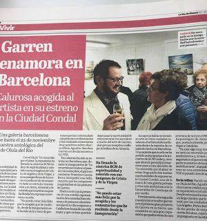 BCM ART GALLERY: Articulo en el Periodico LA VOZ DE ALMERIA sobre l...