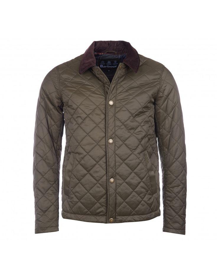 Barbour Men's Holme Quilted Jacket - Olive MQU0889OL72