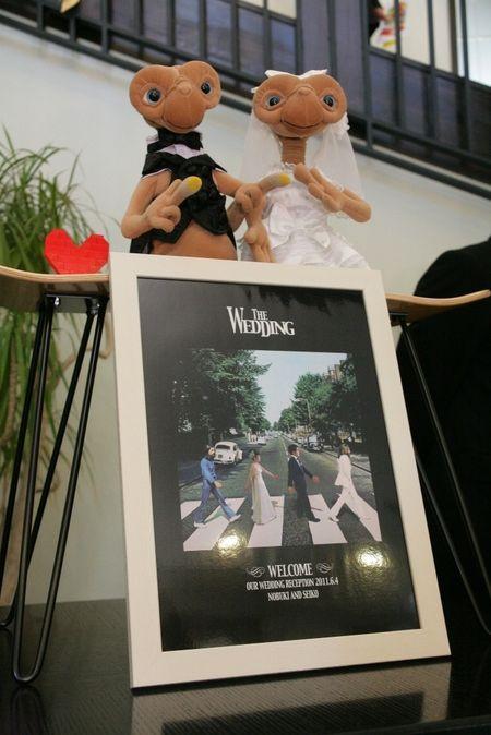 スタイリッシュウェディング ヴィーナスコート 長野のプランナーブログ「ビートルズ+ET=最高のウエディング?」|ゼクシィで理想の結婚式