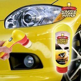 Éliminez rayures, imperfections et traces de rouille sur votre voiture en un tour de main grâce à l'incroyable kit efface-rayure Scratch Wizard Polish !