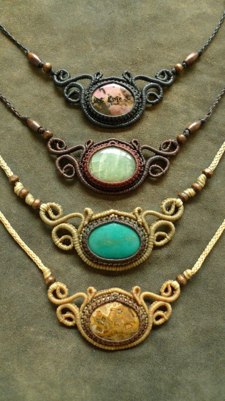 17 Best ideas about Macrame Jewelry on Pinterest | Macrame ...