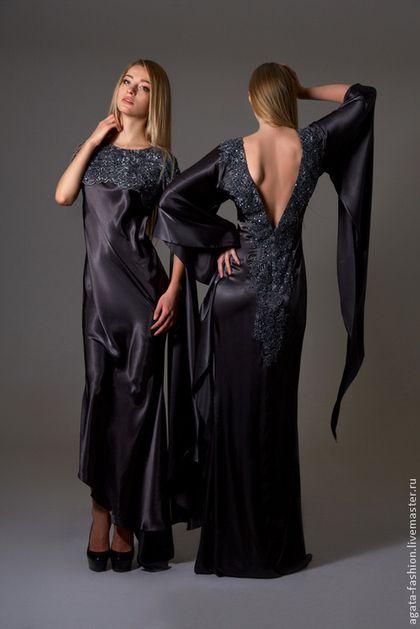"""Платья ручной работы. Заказать Вечернее платье """"АгАтА"""". АгАтА. Ярмарка Мастеров. Дизайнерская одежда, ВЕЧЕРИНКА, выпускной, бисер"""
