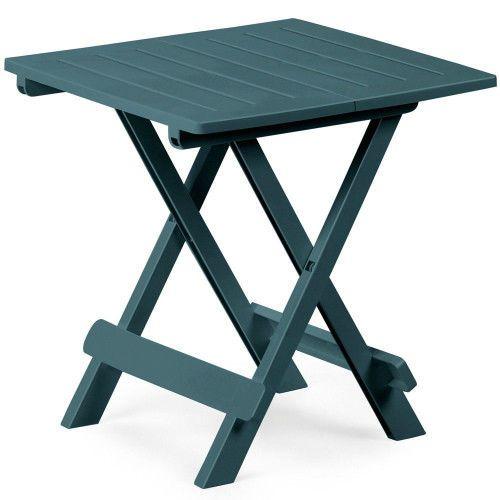 Plastic Folding Side Table Small Snak Coffee Table Portable Patio Picnic Home   #SmartDealsMarket