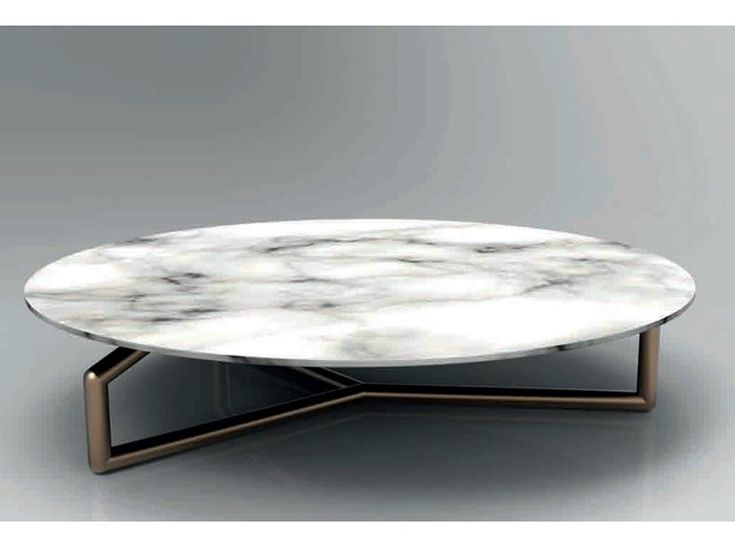 Low round marble topped coffee table, GINGER Esedra Suites Collection by Esedra by Prospettive | design Studio Memo
