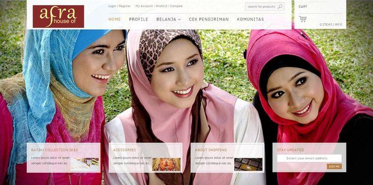web toko online dengan shoppingcart - House Of Afra. houseofafra.com