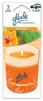 AUTO EXPRESSIONS 800002141 Hawai Air Freshener, (Pack of 3)