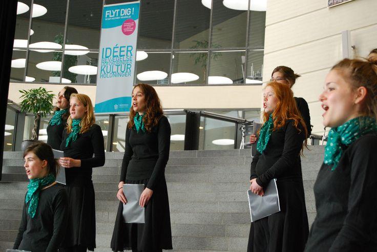 Talentierte junge Frauen mit schönen Gesangsstimmen rundeten den Tag ab.