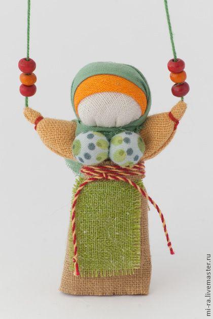 Народные куклы ручной работы. Ярмарка Мастеров - ручная работа Благодать-оберег  благополучия. Handmade.