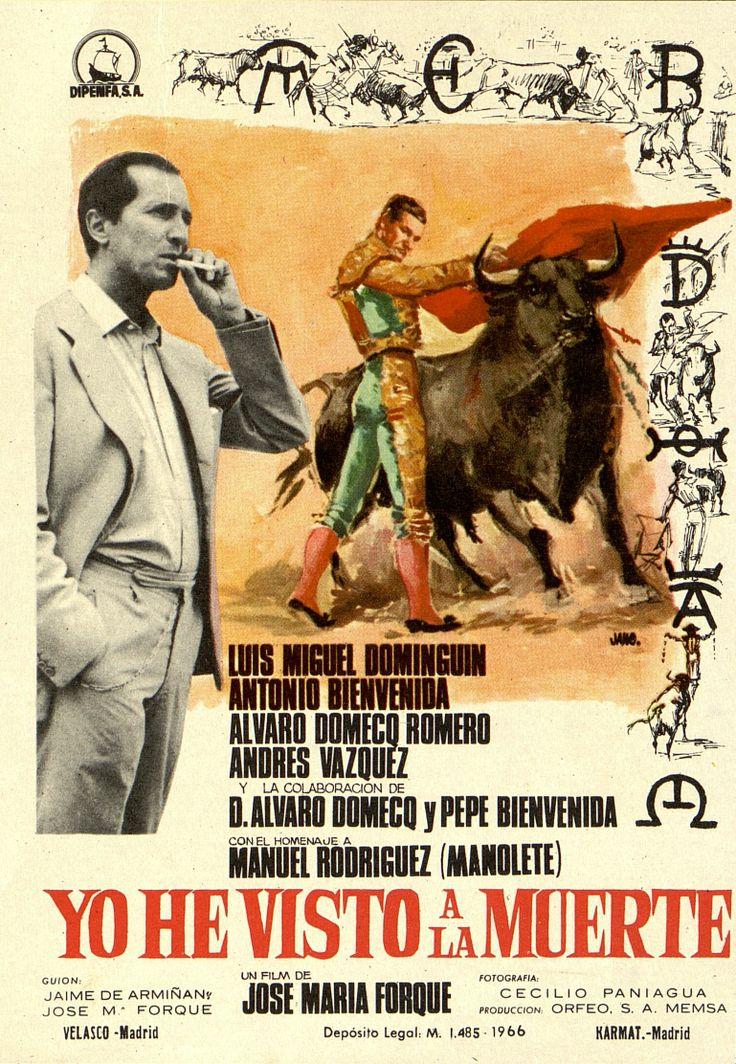 365.     JANO. Yo he visto a la muerte. Dirigida por José María Forqué. Madrid: Karmat, 1966.  #ProgramasdeMano #BbtkULL #CineEspañol #DiadelLibro2014