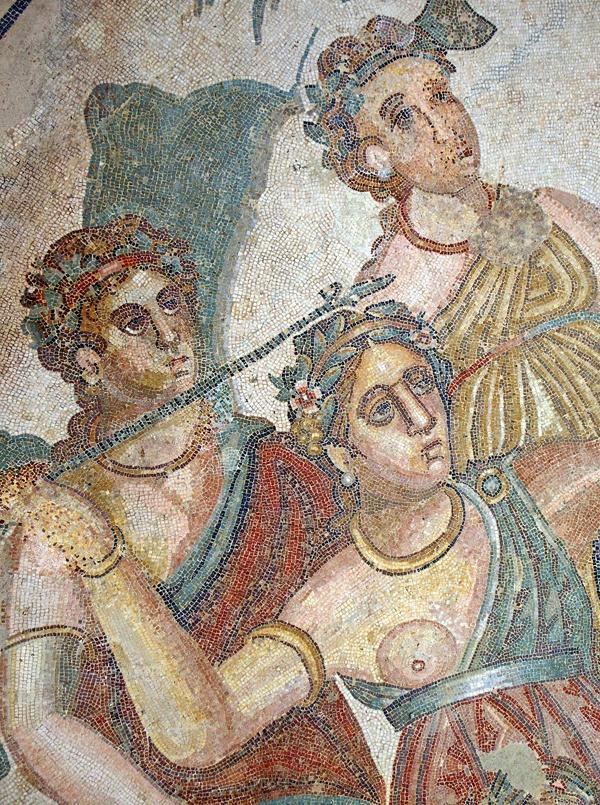 Mosaic at the Villa Romana