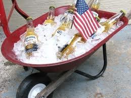 White trash chill tub!!