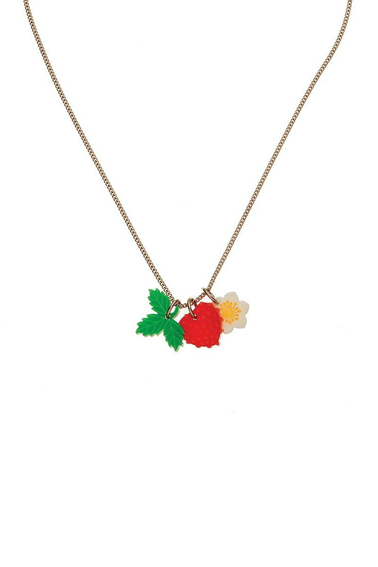 Strawberry Patch Charm Necklace, £35: http://www.tattydevine.com/strawberry-patch-charm-necklace.html