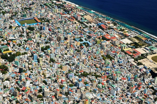 Malé, capital of Maldives
