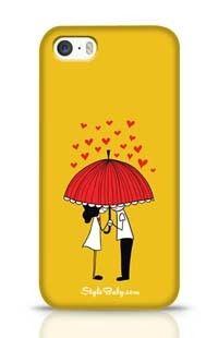 Love Couple Apple iPhone 5S Phone Case