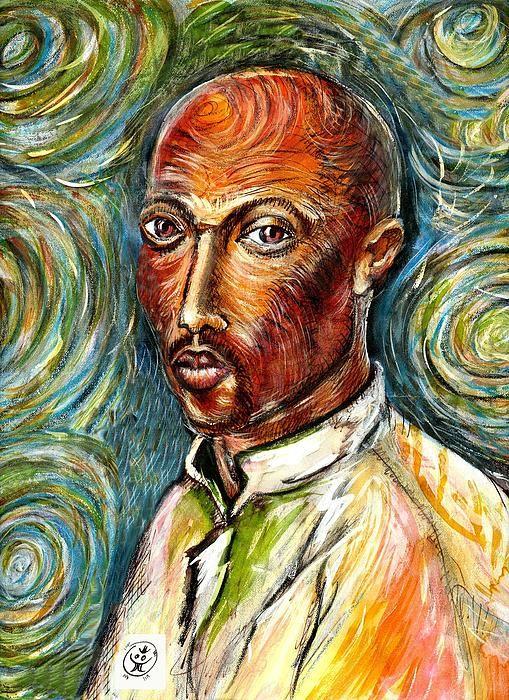 2Pac à la Van Gogh