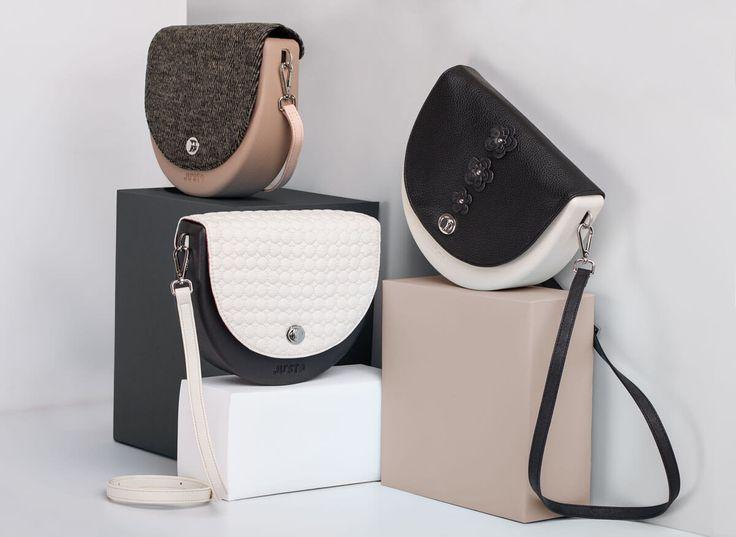 J-HOOP è la nuova borsa realizzata in gomma eva, disegnata da Emanuele Magenta, caratterizzata dal design rotondeggiante e originale.