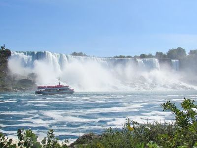 flavjo70 travel & dreams: Voyage to the Falls: in battello alle Cascate del Niagara
