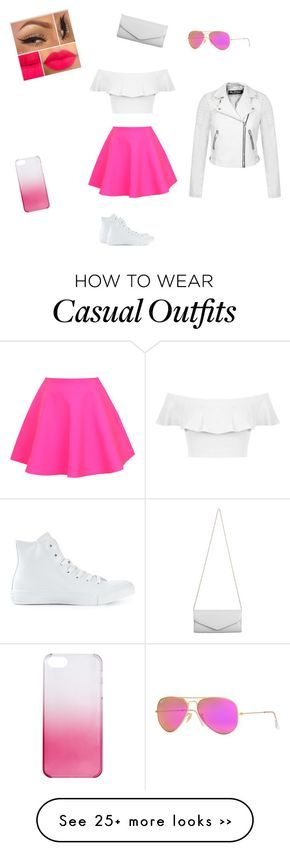 """Casual day"" by pinkfluffyawesomeness on Polyvore"