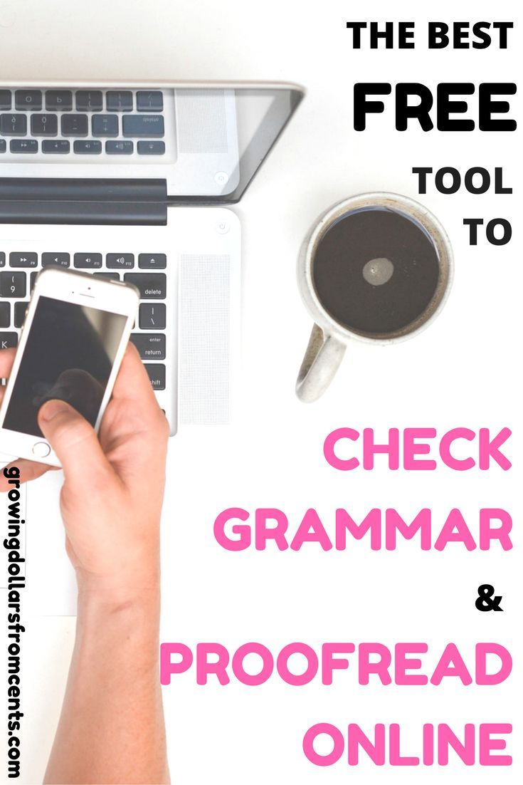 This is the best grammar check online tool. It instantly fixes common errors in your emails, documents, and social media posts. If you type anything online you should have Grammarly!