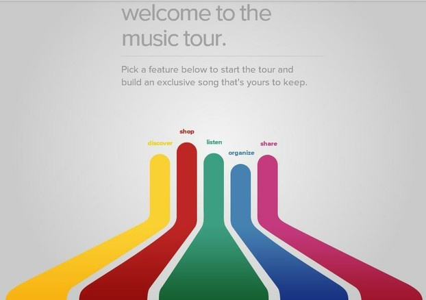 Magical Mystery Google Play Music tour