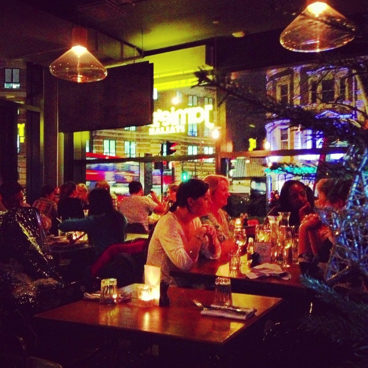 Jamie Oliver italian restaurant London