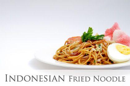 Bami Goreng -  Indonesian fried noodle