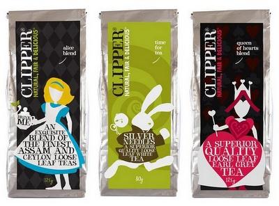great tea packaging
