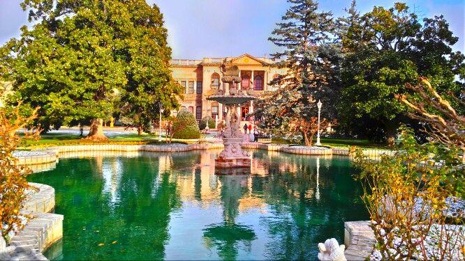 Dolmabahçe Sarayı στην περιοχή Beşiktaş, İstanbul