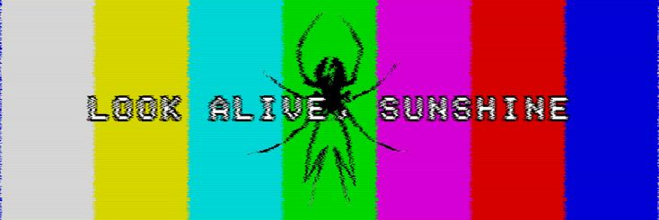 made this header for twitter to match my glitch killjoys icon set from a while back (i'm using the val icon… haha whoops) the font is called apple, btw