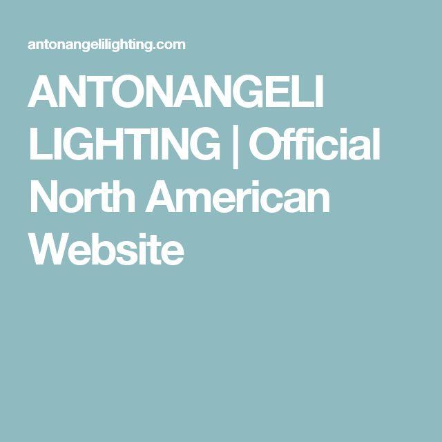 ANTONANGELI LIGHTING   Official North American Website