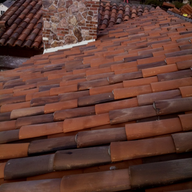 Shield Roofing Inc Custom Clay 2 Piece Tile With Random