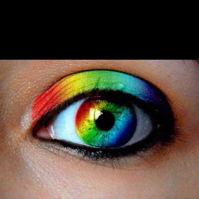 That's freaking awesome!!! I kinda want those. .  . A lot! Colored contacts