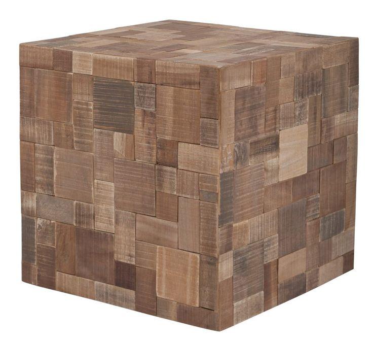 Masa din lemn de tec reciclat model Mosaic #recycledwood #design