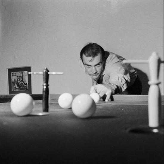 Bar billiards with Sean Connery (1962)