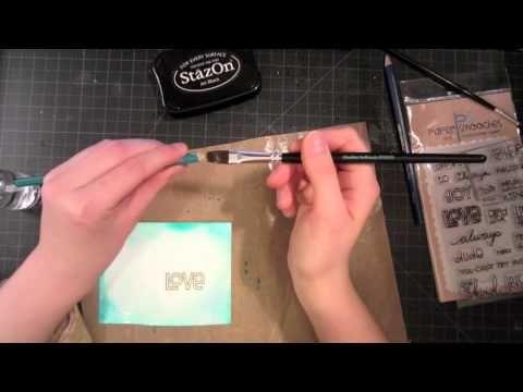 Beautiful watercolor pencil technique!