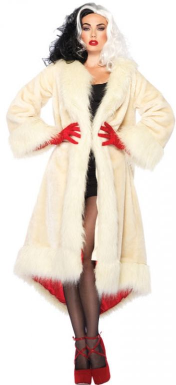 Cruella De Vil Coat - Family Friendly Costumes
