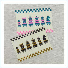 水縞×tupera tupera ゲームポストカード:オリーブアベニュー