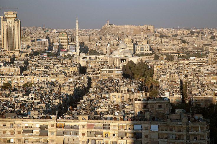 La città di Aleppo