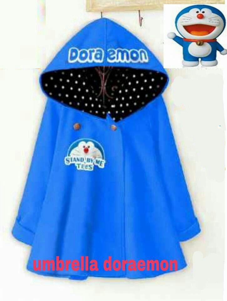 #kaoskorea UMBRELLA DORAEMON, bahan baby terry harga 55k, fit to L www.ramailancar.com www.facebook.com/tokobajurajutmurah 0857 2212 6318