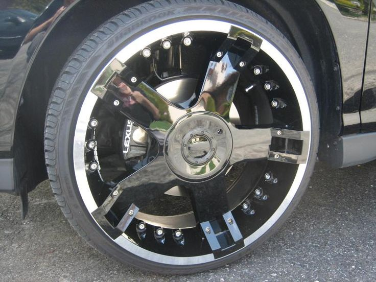 Cheap rims and tires set